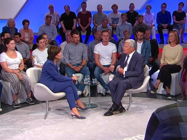 """Gauck nennt Tönnies-Aussage """"rassistisch"""" – dann belächelt er Thunberg und Habeck"""