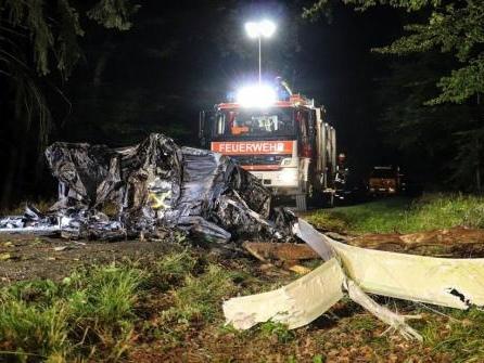 Zwei Tote bei Absturz eines Tragschraubers