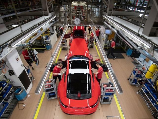 Corona-Krise: Produktion bei Porsche ruht auch in der Woche nach Ostern
