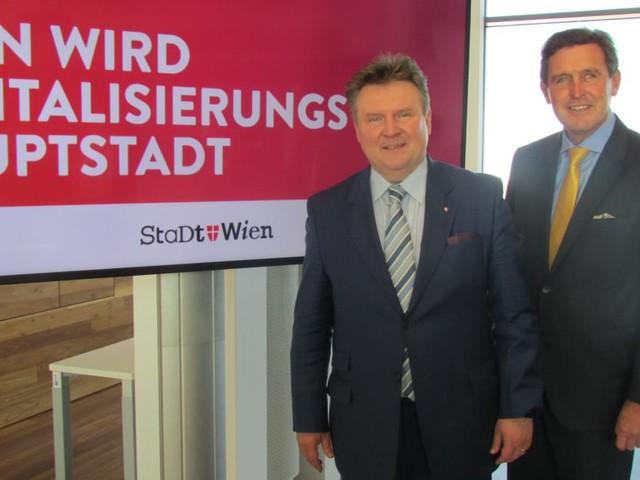 Wien auf dem Weg zur Digitalisierungshauptstadt Europas