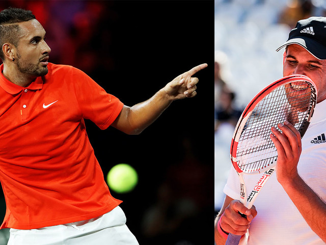 """Tennis: Kyrgios antwortet Thiem: """"Nicht das intellektuelle Niveau"""""""
