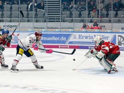 Jetzt live: Auswärtsspiel bei den Augsburger Panthern