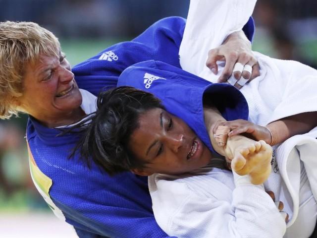 Die Spitzen-Judoka Sabrina Filzmoser hat alles im Griff