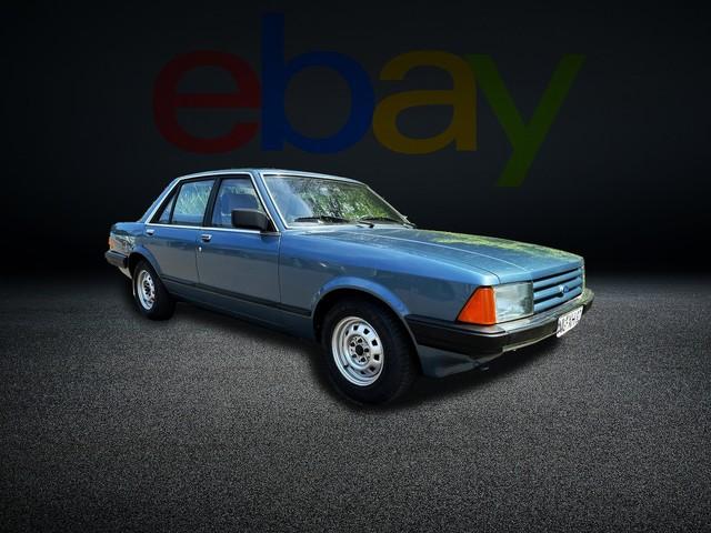 Ford Granada: Motor, kaufen, Oldtimer, Erstbesitz, Scheune, Rentnerauto Dieser ehrliche Ford Granada hat keine 50.000 km runter