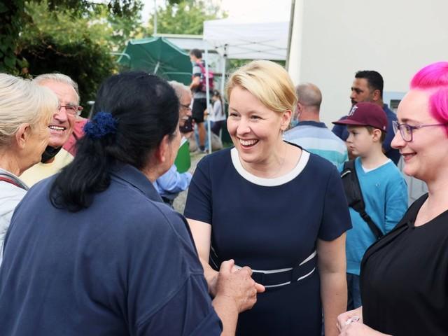 Berlin-Wahl: Franziska Giffey will als konservative Sozialdemokratin die Hauptstadt erobern