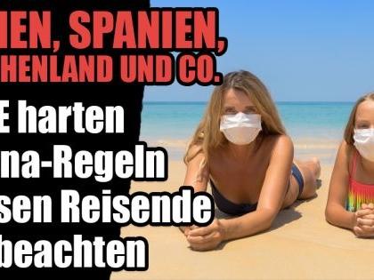 Ferien inItalien, Griechenland,Spanien: DIESE strikten Corona-Regeln müssen Urlauber beachten