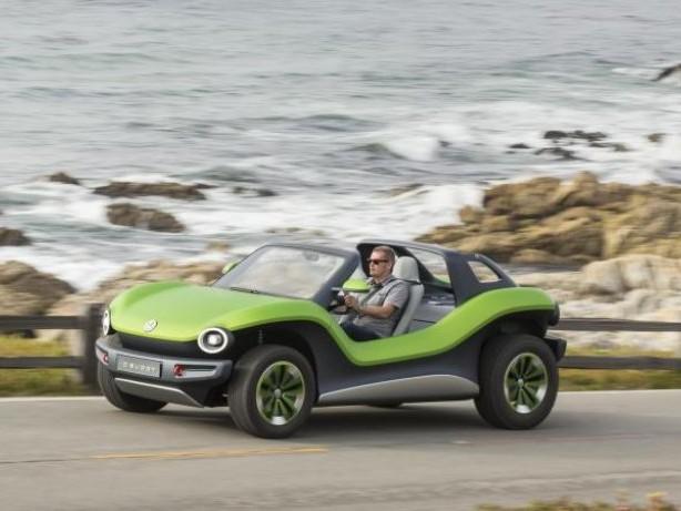 Stromer für den Strand: So fährt es sich im VW ID Buggy