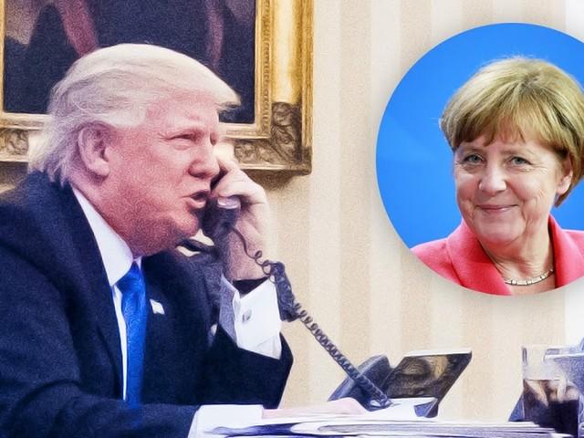 Wegen Zeitverschiebung: Trump hat Merkel bereits zum Wahlsieg gratuliert