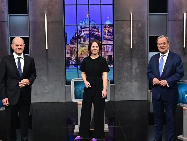 Bundestagswahl: Umfrage zum Triell: Wer ist Gewinner des Schlagabtausches?
