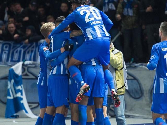 Tor-Premiere für Grujic: Hertha schließt mit 1:0 zu Eintracht auf