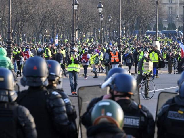 Proteste und Ausschreitungen in mehreren Ländern Europas