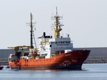 """Flüchtlingsrettungsschiff """"Aquarius"""" beendet Einsätze im Mittelmeer"""