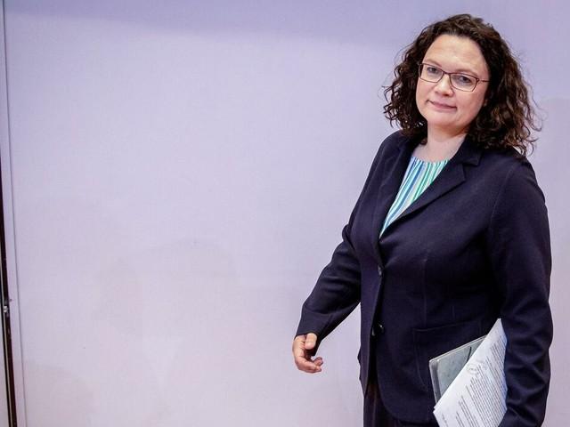 Ex-SPD-Vorsitzende: Andrea Nahles legt Bundestagsmandat nieder