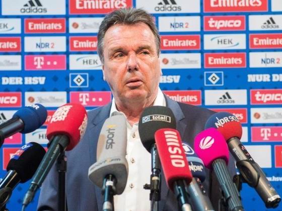 Bruchhagen: Keine Trainer-Diskussion beim Hamburger SV