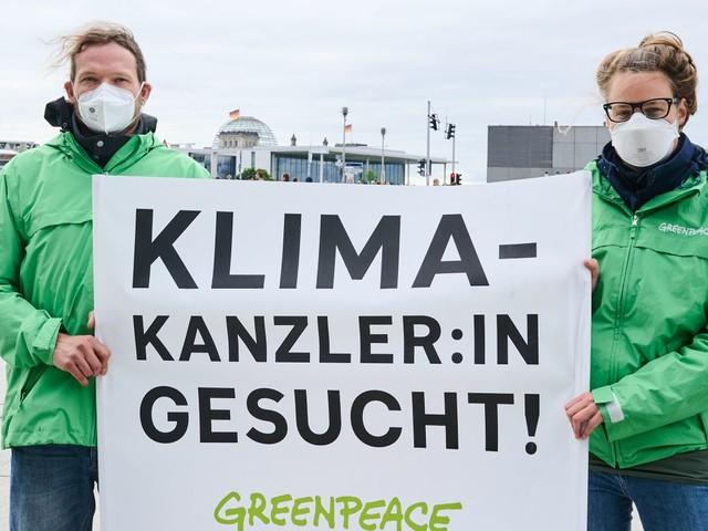 Greenpeace fordert Klimaaktivisten auf, Proteste zu beenden