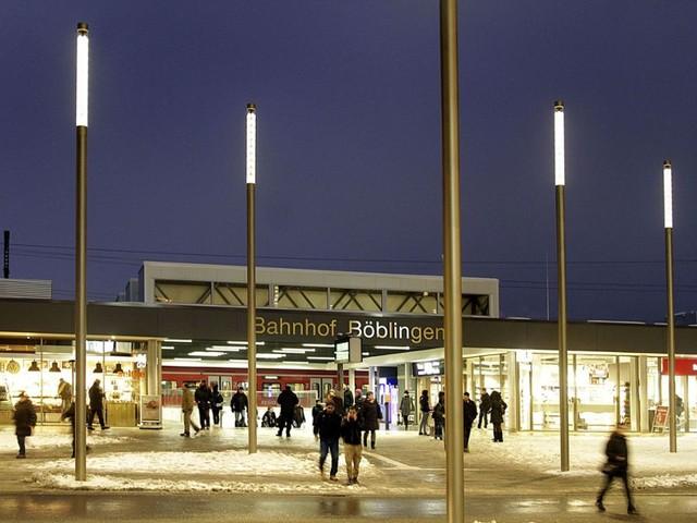 Böblingen: Messerattacke auf dem Bahnhofsvorplatz