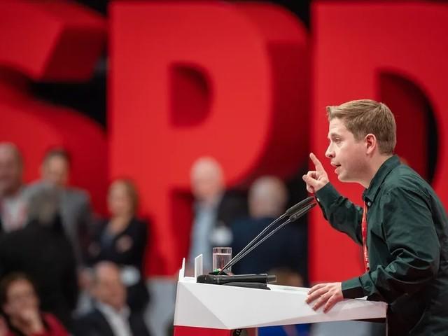 Juso-Chef Kühnert zum SPD-Vizechef gewählt