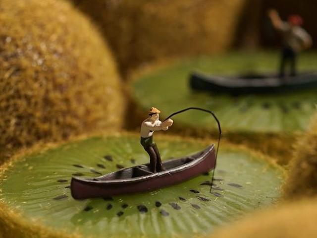 """Miniature Calendar"" – Tatsuya Tanaka entwirft täglich neue Miniatur-Welten"