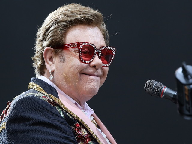 Elton John und Lizzo: Rührendes Gespräch beim iHeart-Benefizkonzert