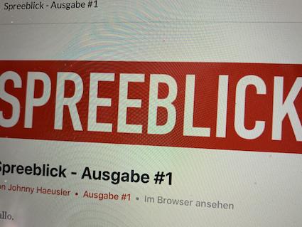Neu: Spreeblick Weekly