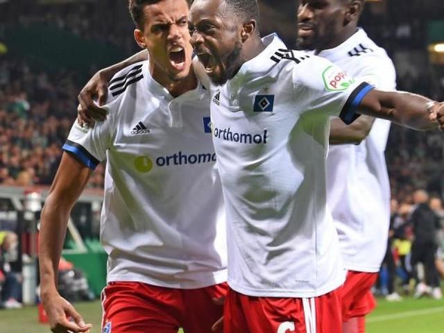 HSV gewinnt turbulentes Nord-Derby bei Werder Bremen