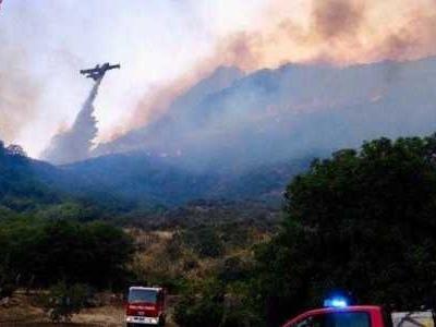 Auf Sizilien und in anderen Regionen Italiens brennen die Wälder.