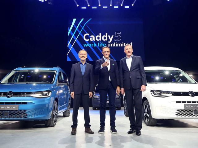 VW plant Plug-In-Hybrid-Version des neuen Caddy