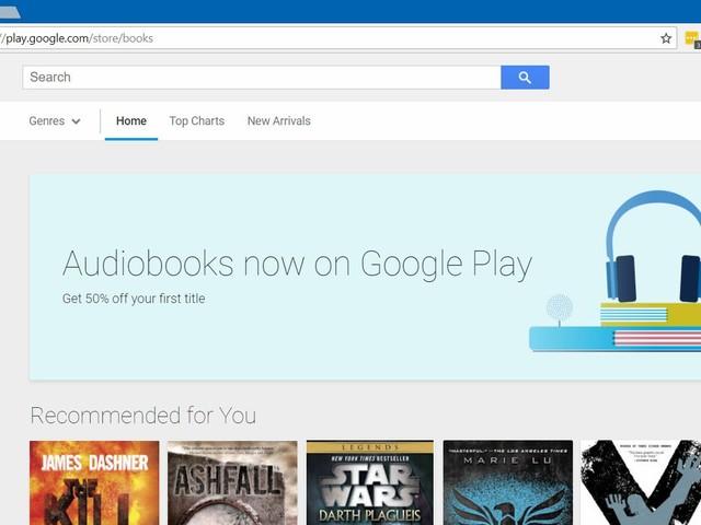 Google Play startet mit Hörbüchern