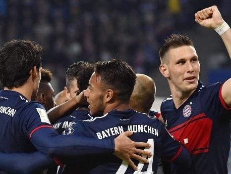 1:0 in Hamburg – Bayern ziehen mit Dortmund gleich