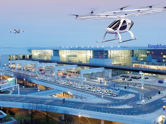 Den Stau einfach überfliegen: Frankfurter Flughafen setzt auf Flugtaxis