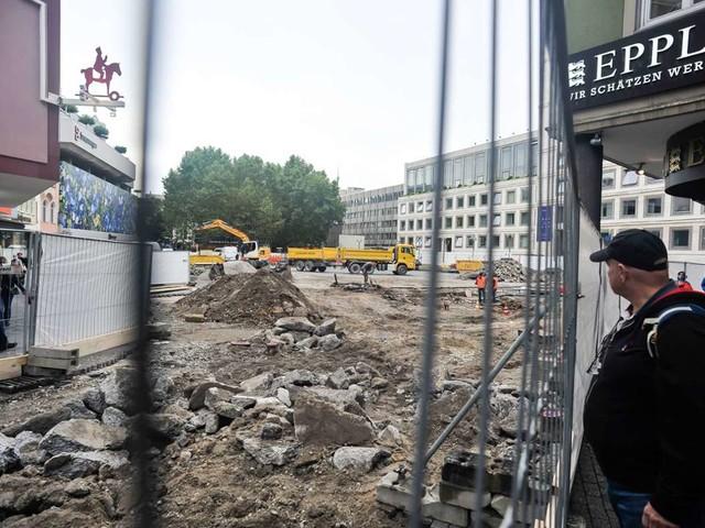 Marktplatz in Stuttgart: Baustopp ist ein hoffnungsvolles Signal
