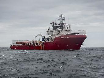 """Ärzte ohne Grenzen: Gerettete an Bord der """"Ocean Viking"""" können in Malta an Land gehen"""