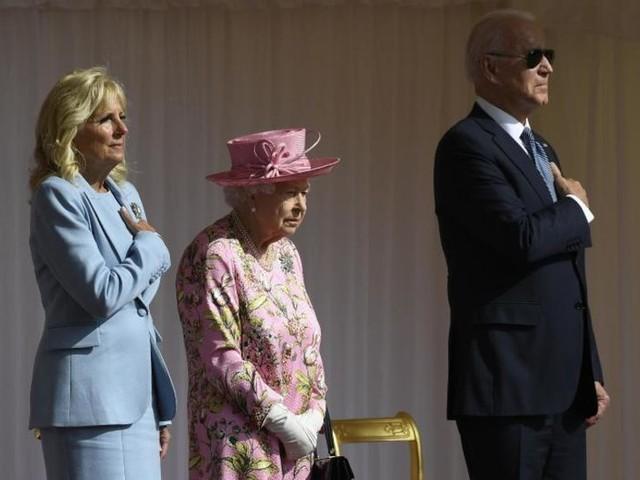 Queen empfängt US-Präsident Biden und First Lady