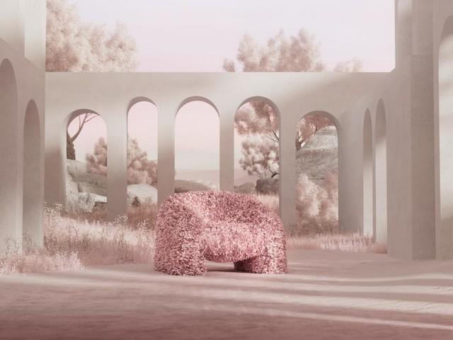 Blütenbad: Die Schönheit der Natur in Design übersetzt