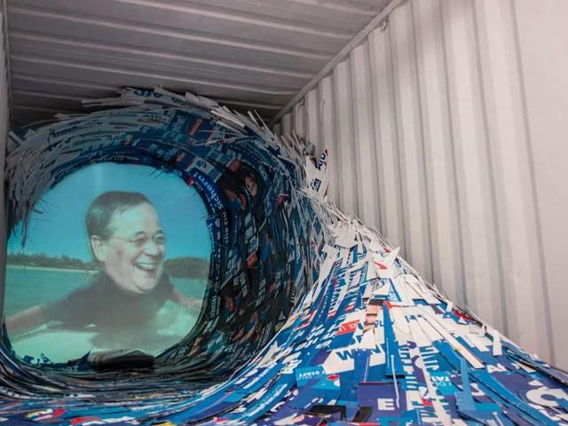 Laschet und Maaßen surfen auf AfD-Welle: Stadtgalerie verbietet CDU-kritisches Kunstprojekt