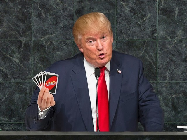 """""""Moment, ich dachte, wir spielen Karten"""": Trump von UNO zutiefst enttäuscht"""