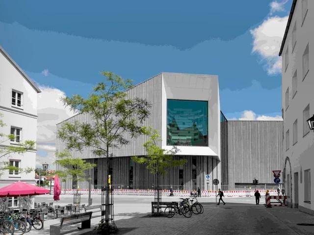 Neues Museum, weiß-blau: Ein grauer Klotz für Bayerns Geschichte