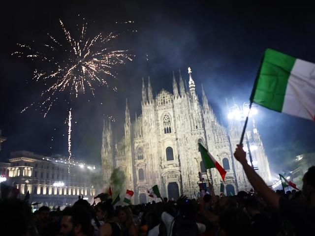 Corona: Starker Anstieg der Infektionszahlen in Rom nach EM-Feier