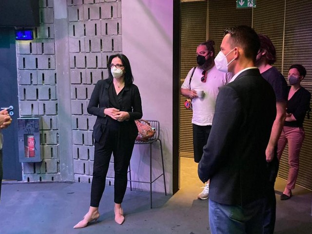 Gesundheitsminister Mückstein zu Besuch in der Disco