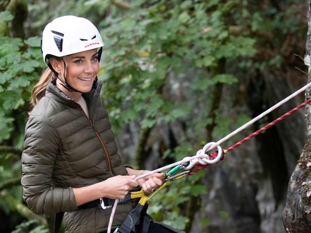 Herzogin Kate in Action: Dieser Trip ist nichts für schwache Nerven