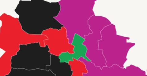 Alle 12 Bezirke auf einen Blick