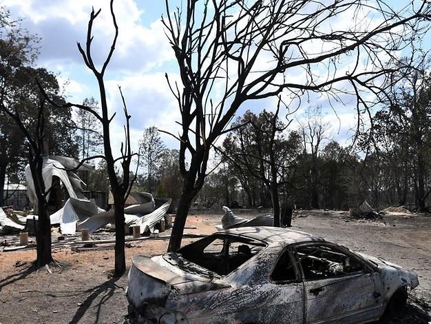 Leichen in Hausruine entdeckt: Australisches Rentnerpaar stirbt bei Buschbränden