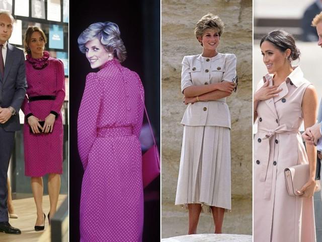 Kate, Meghan und Prinzessin Diana: Auf den Spuren der Schwiegermutter, die sie niemals kannten