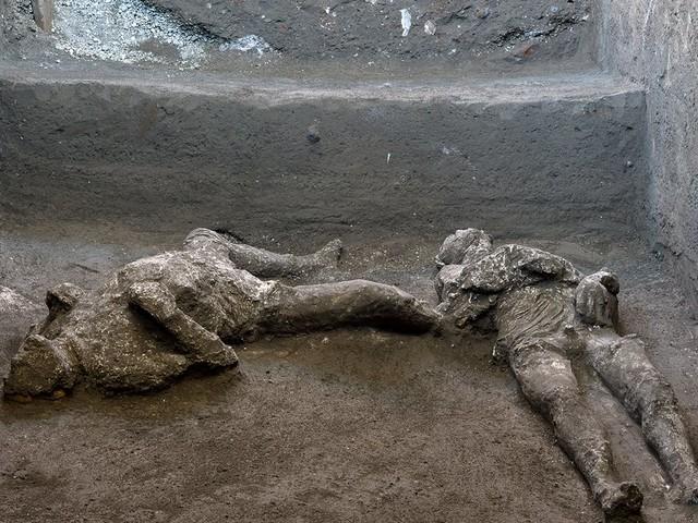 Pompeji: 2000 Jahre alte Todesopfer von Vulkanausbruch entdeckt
