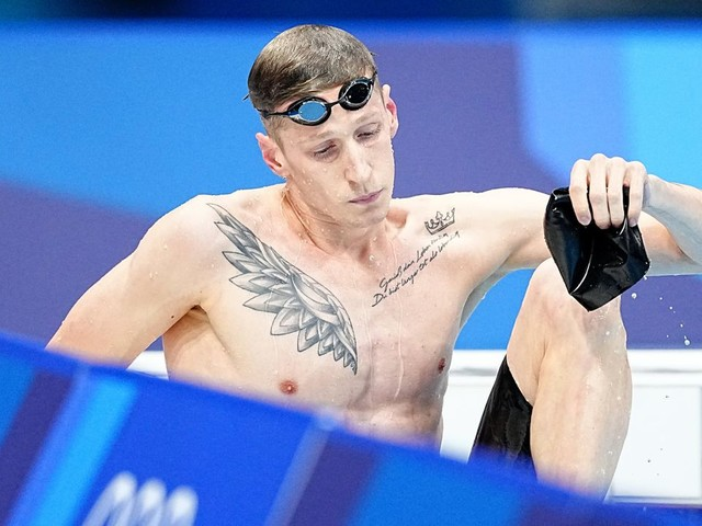 Olympia 2021 - Schwimmen: Florian Wellbrock, Olympiasieger über 750 Meter