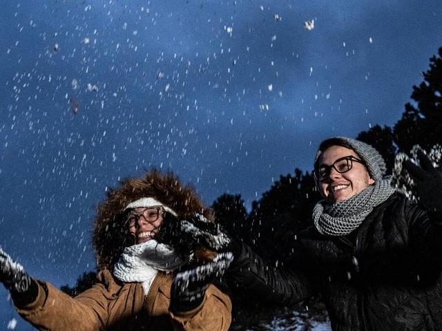 """Kältewelle bringt Schnee in Brasilien: """"Schönes Geschenk des Himmels"""""""
