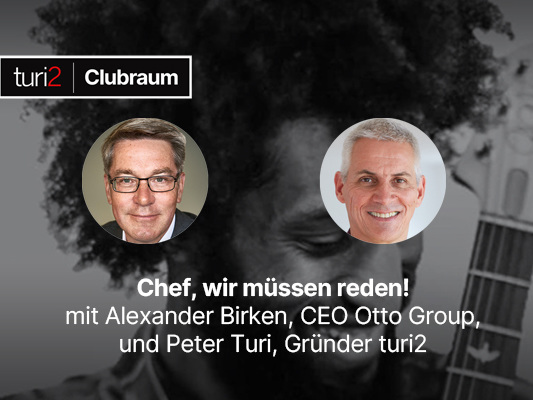 Chef, wir müssen reden! So lief der Clubraum-Talk mit Otto-Group-Chef Alexander Birken.