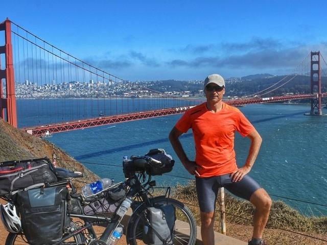 Edwin Schmidt: 17.000 Kilometer mit dem Fahrrad durch Amerika