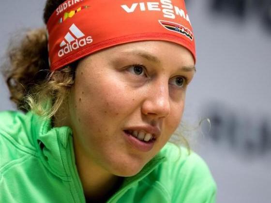Biathlon-Damen-Staffel will auf dasPodest