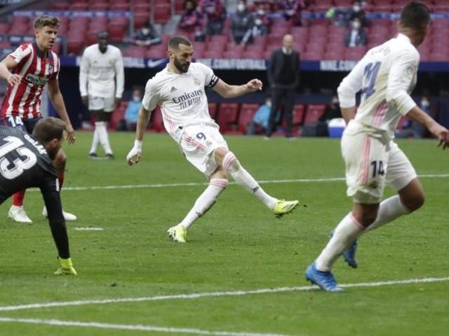 Benzema rettet Real Punkt im Derby bei Atlético